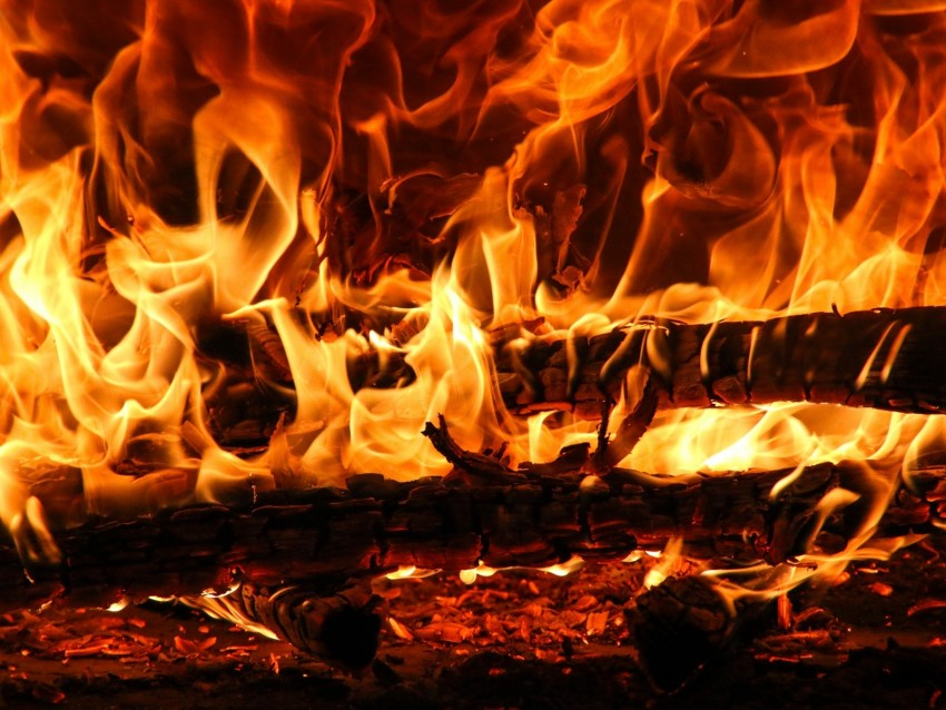 free PNG bonfire, fire, embers, ash, flame, dark background PNG images transparent