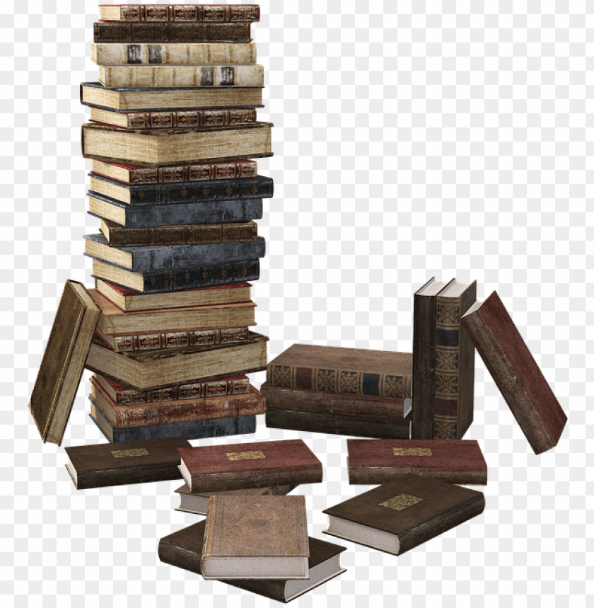 free PNG book, book stack, stacked, books, literature, read - book stack PNG image with transparent background PNG images transparent
