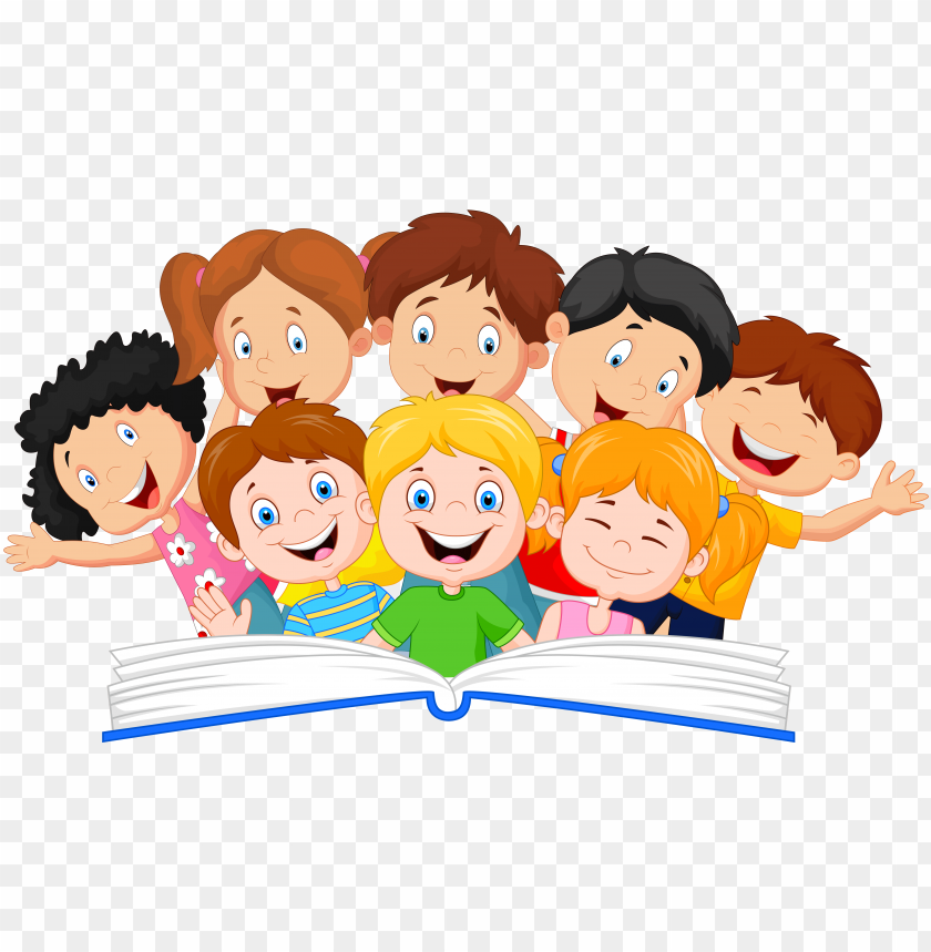 free PNG book vector children's - kids reading clipart PNG image with transparent background PNG images transparent