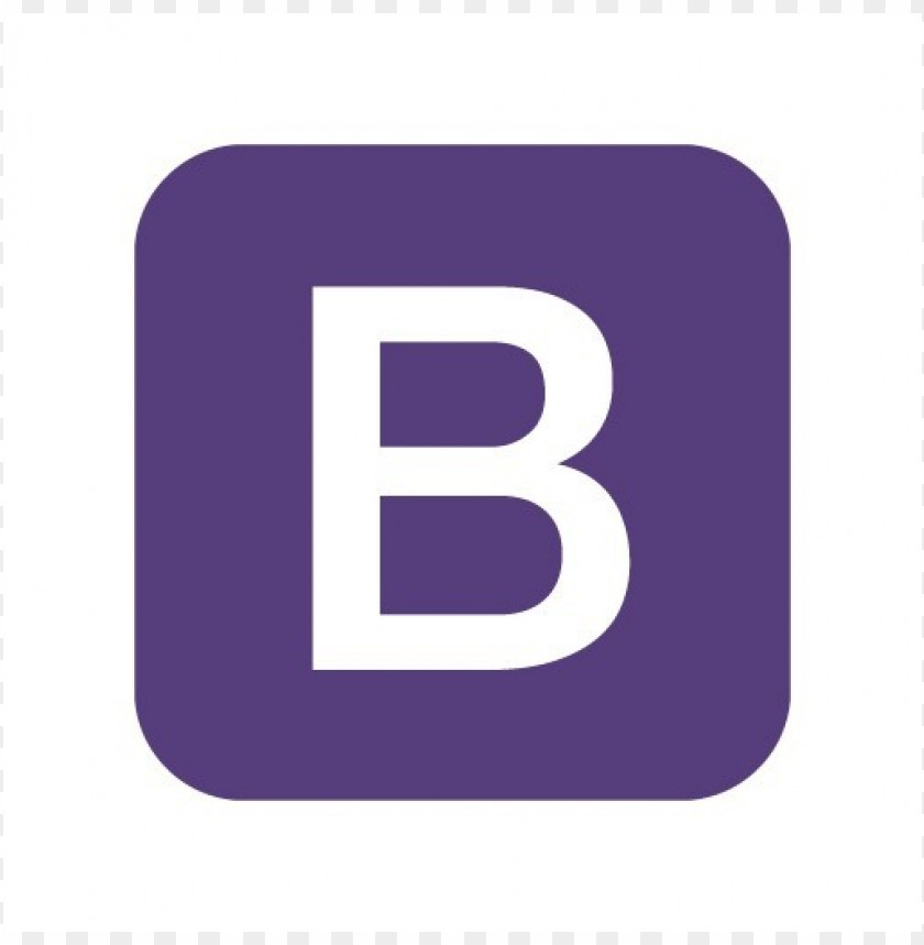 free PNG bootstrap logo vector download PNG images transparent