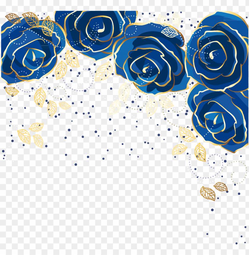 free PNG boquet bouquet watercolor watercolour flowers flower - blue sparkle border png transparent PNG image with transparent background PNG images transparent