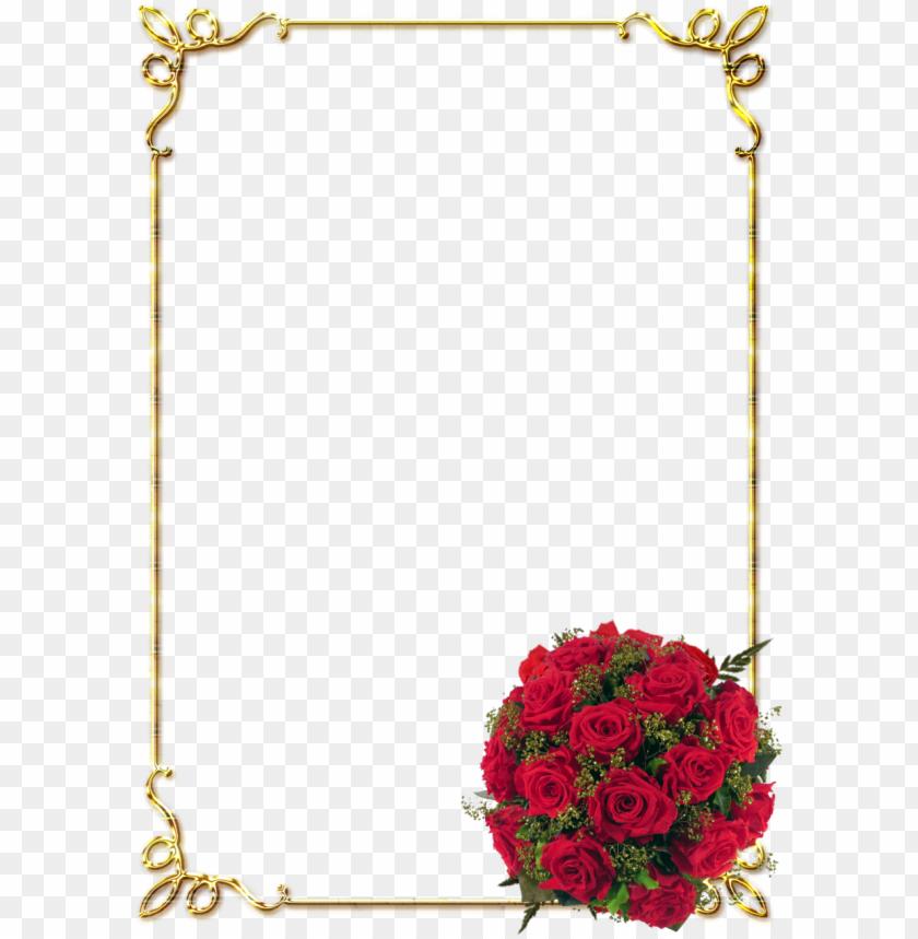 free PNG border design rose clipart borders and frames floral - flower background border designs PNG image with transparent background PNG images transparent