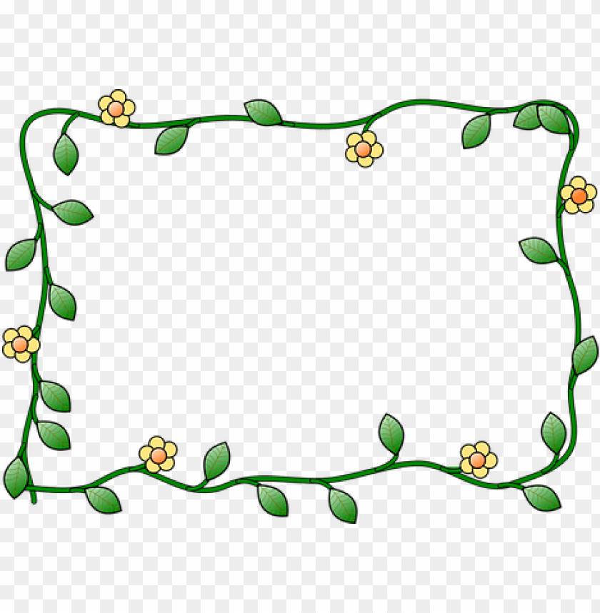 border flower plant nature decoration bord flower frame clipart png image with transparent background toppng border flower plant nature decoration
