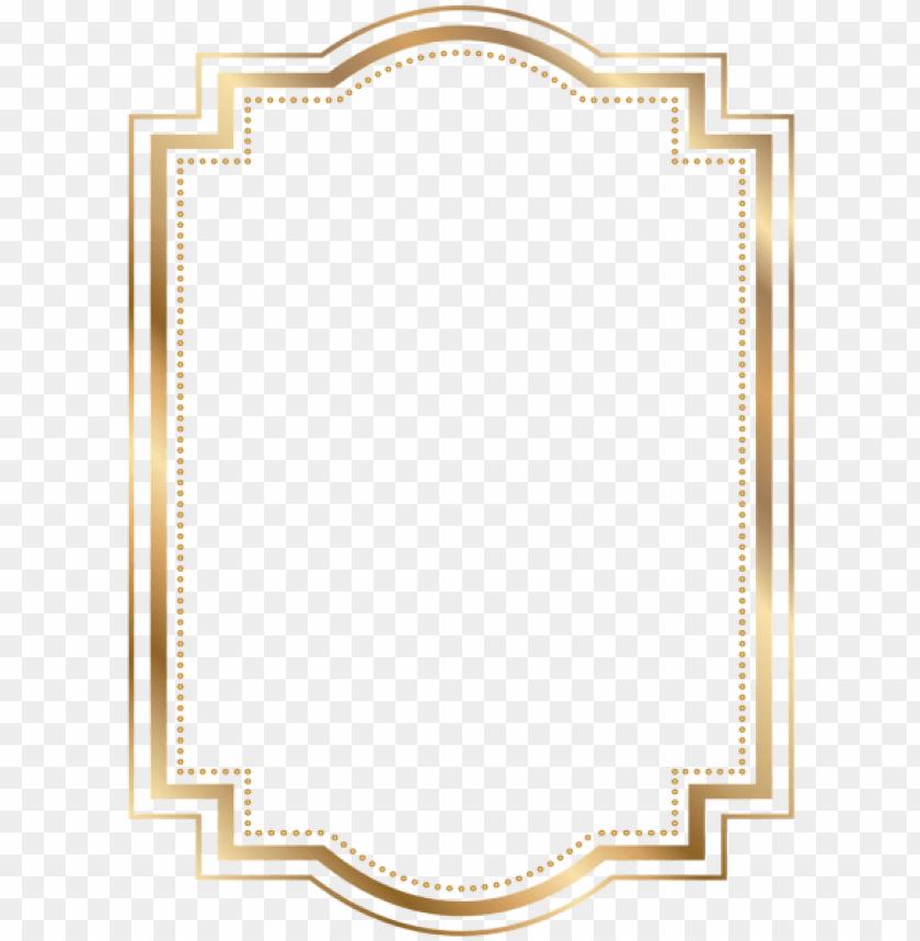 free PNG border frame gold transparent clip art borders and - gold border frame PNG image with transparent background PNG images transparent