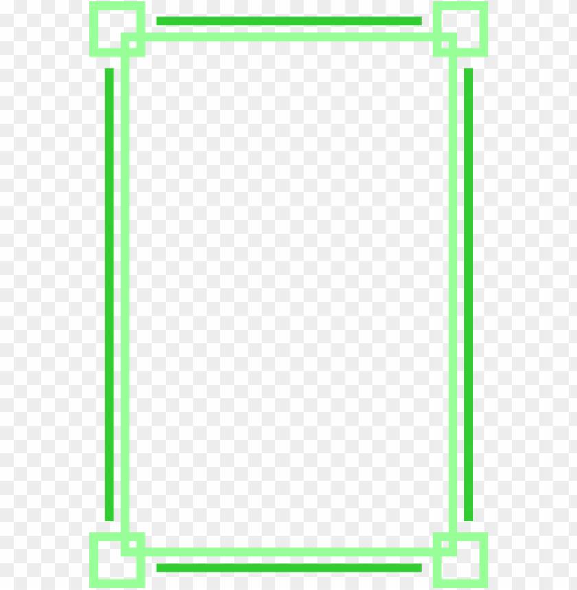 free PNG border green free stock photo illustration of a blank green frame rre5l2 png - Free PNG Images PNG images transparent