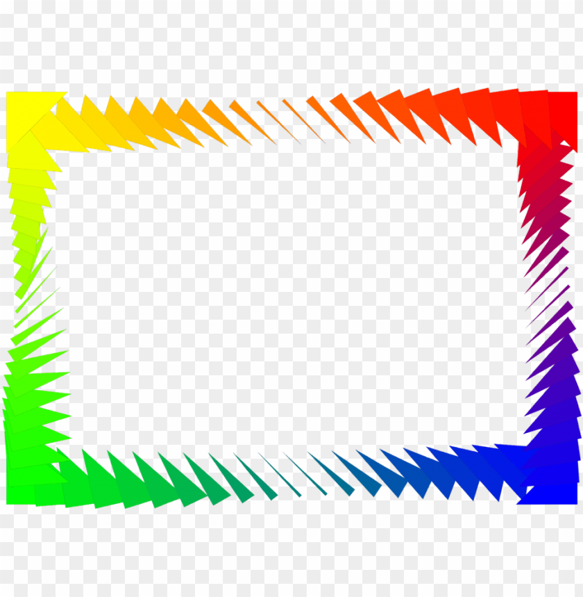 free PNG border rainbow free stock photo ilration of a colorful - page border colorful PNG image with transparent background PNG images transparent