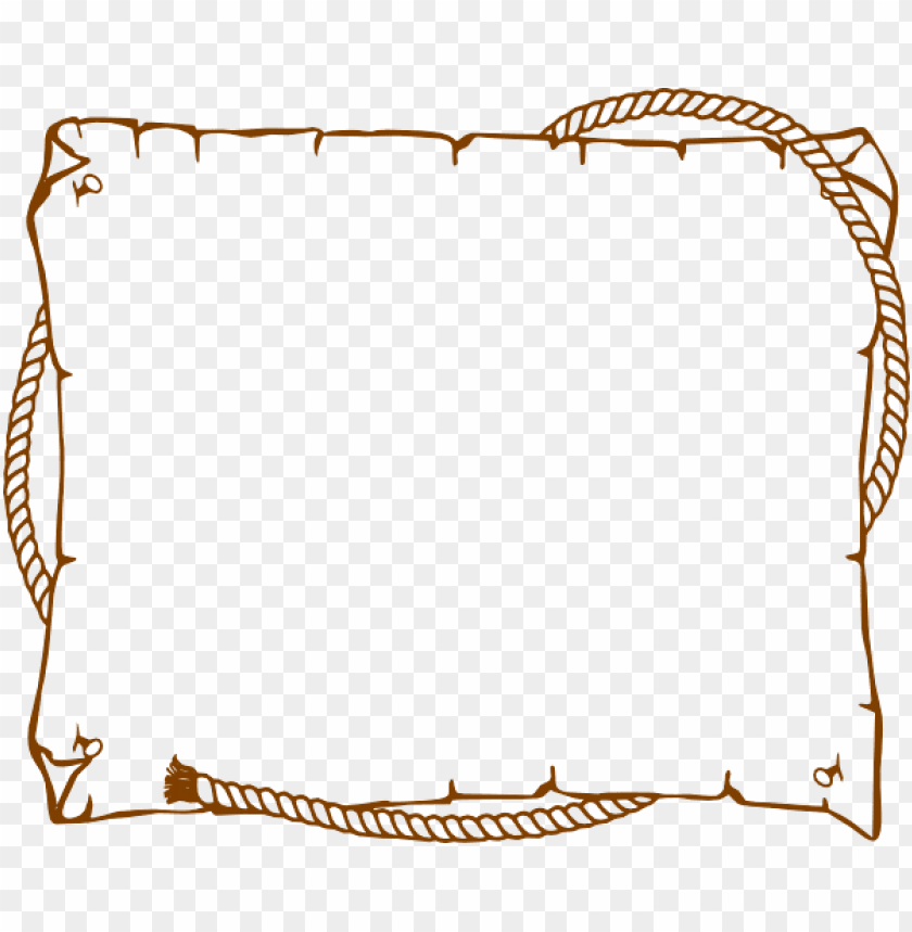 free PNG border rope western  at clker com vector  online ikjq3z png - Free PNG Images PNG images transparent