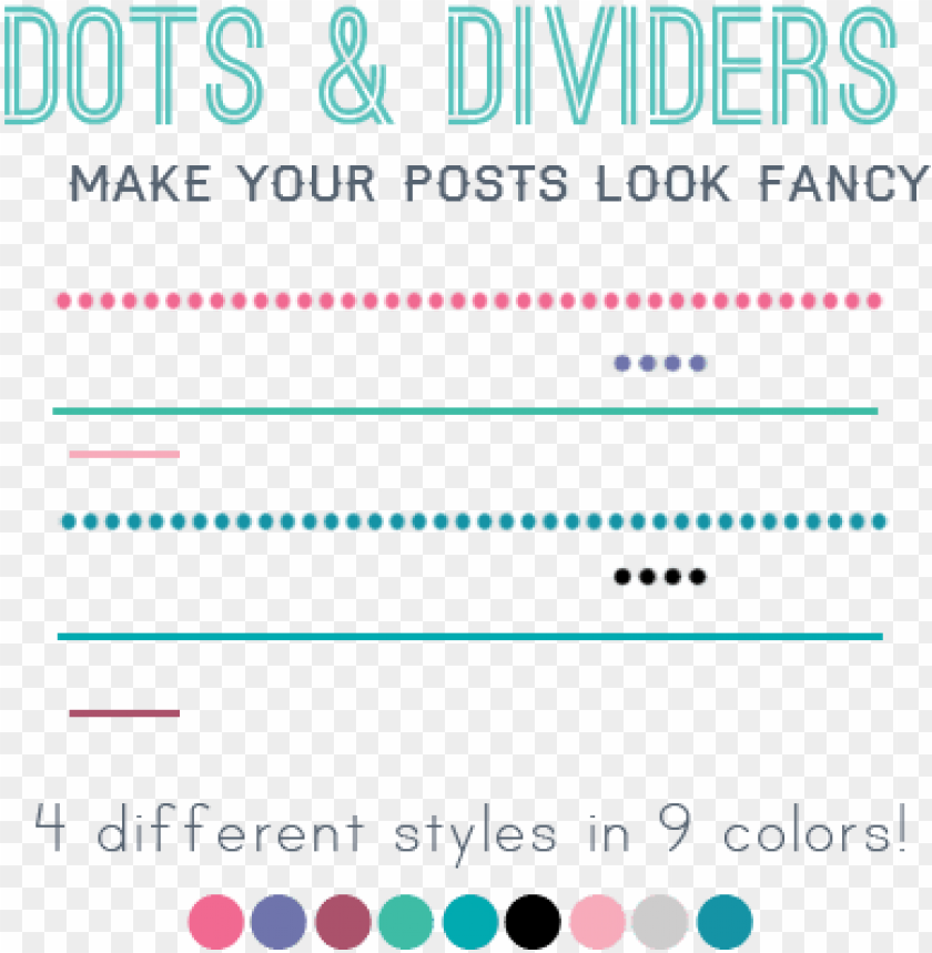 free PNG borders and dividers for your blog posts - blog dividers PNG image with transparent background PNG images transparent