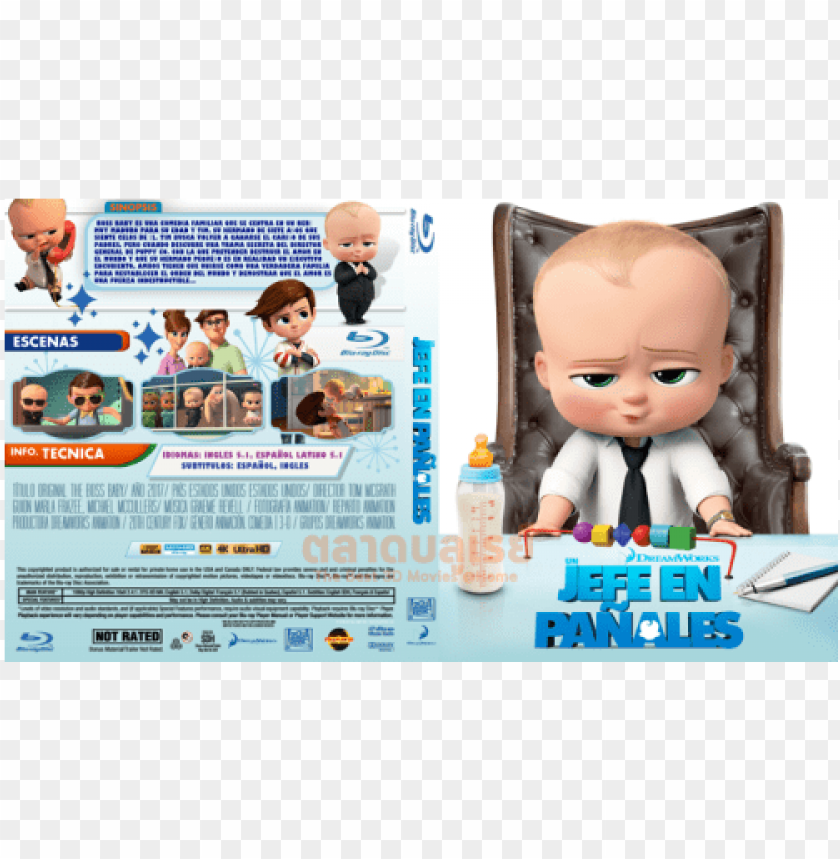 Boss Baby Movie Poster Hd Png Image With Transparent
