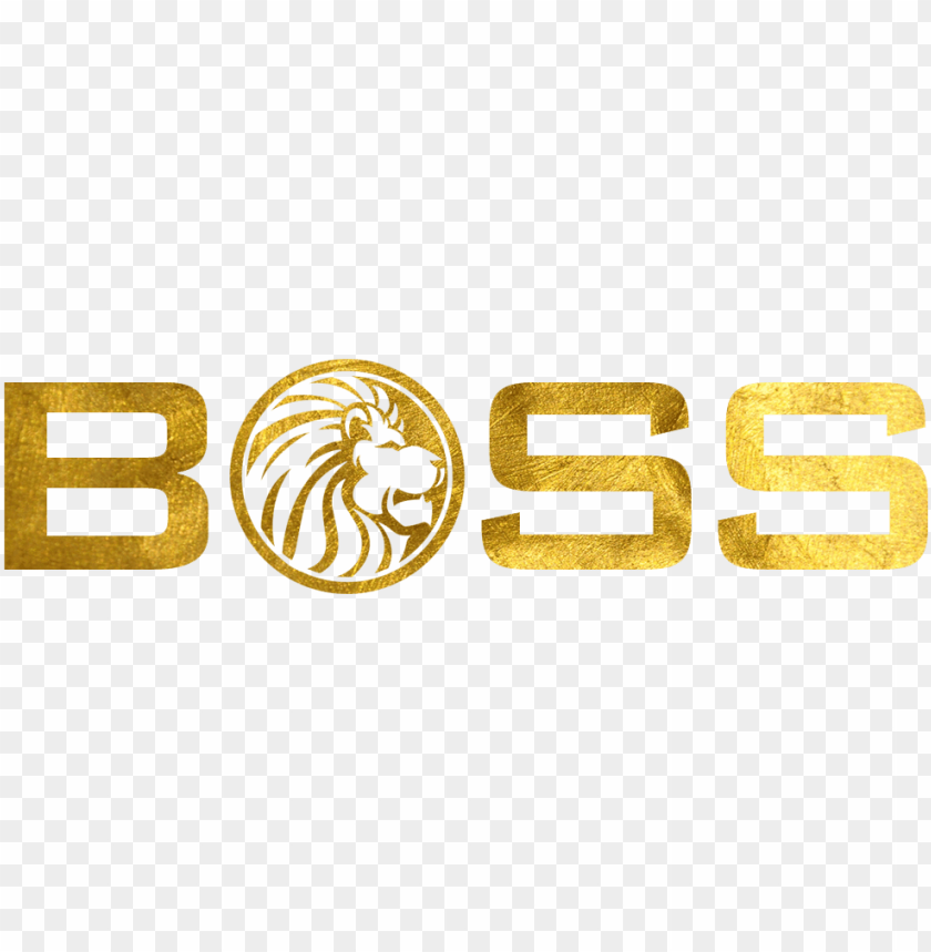 Boss Logo Gold Png Image With Transparent Background Toppng