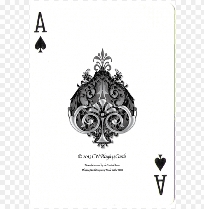 free PNG boudoir playing cards - bicycle playing cards ace of spades PNG image with transparent background PNG images transparent