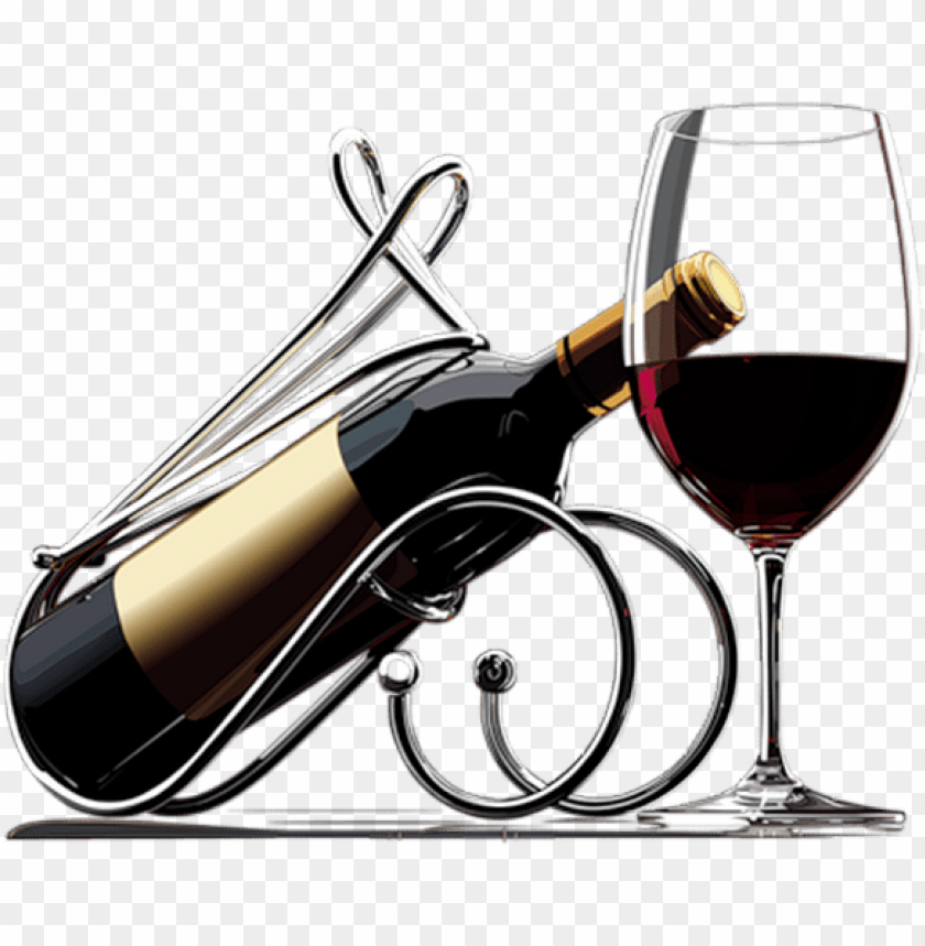 free PNG bouteille et verre de vin rouge - png glass red wine PNG image with transparent background PNG images transparent