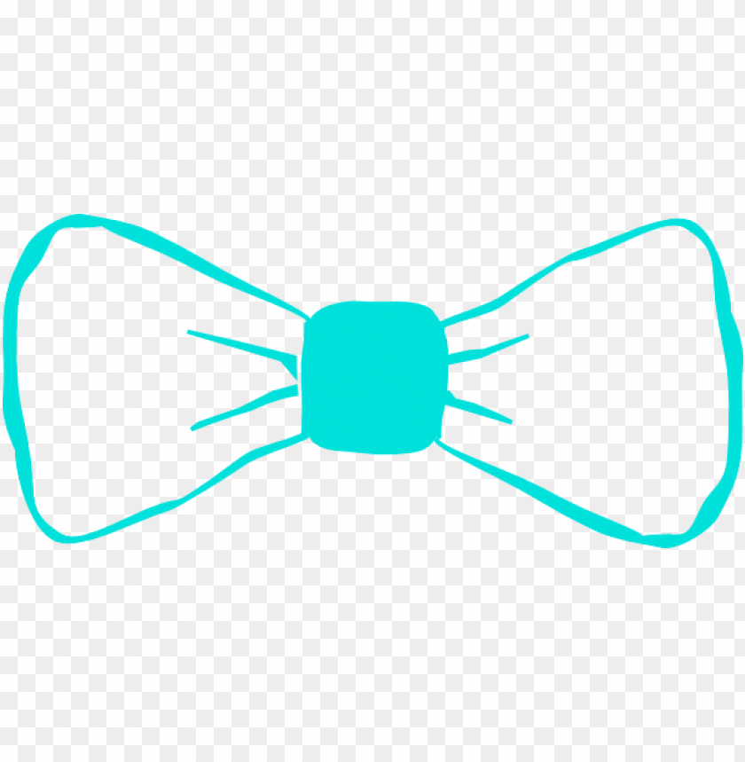 free PNG bowtie clipart teal - teal bow tie clipart PNG image with transparent background PNG images transparent