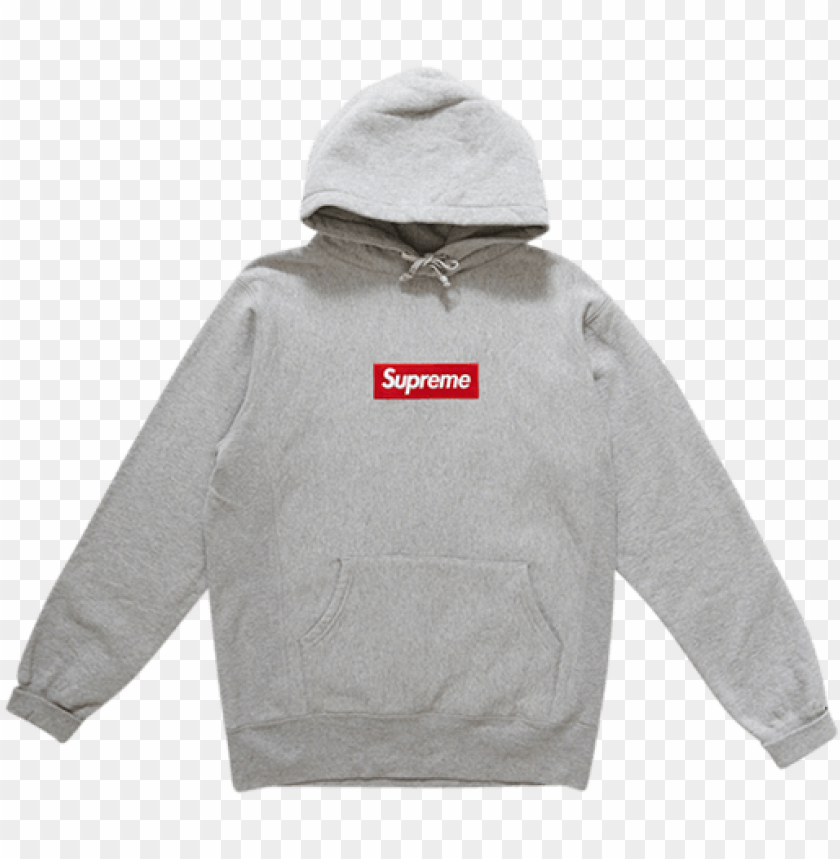 Box Logo History Of Supreme Bogo Hoodie Png Image With Transparent Background Toppng