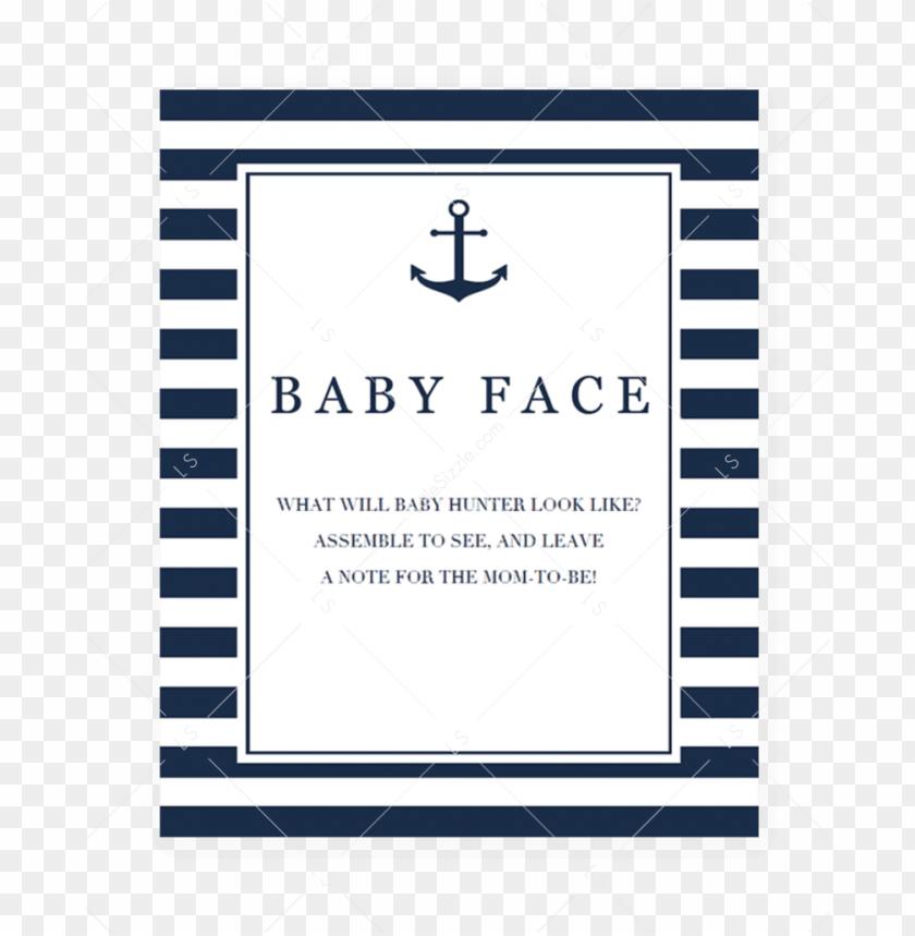 free PNG boy baby shower baby face game printable by littlesizzle - baby shower advice si PNG image with transparent background PNG images transparent
