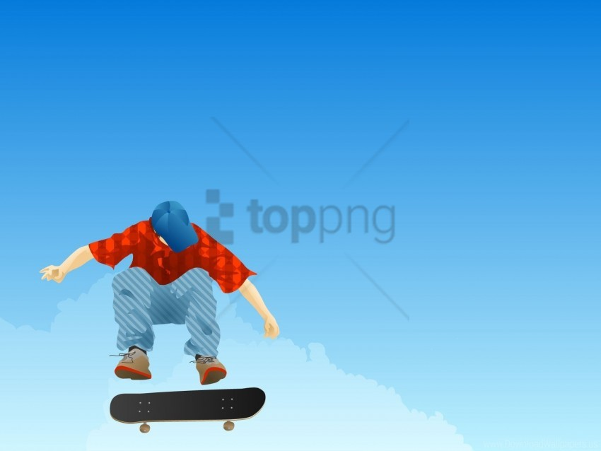 free PNG boy, cap, clothing, jump, skateboard wallpaper background best stock photos PNG images transparent
