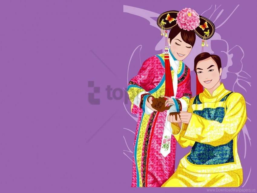 free PNG boy, china, couple, girl, smile, suit, tea party wallpaper background best stock photos PNG images transparent