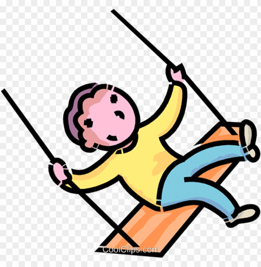 free PNG boy on a swing royalty free vector clip art illustration - cartoon images of boy swingi PNG image with transparent background PNG images transparent