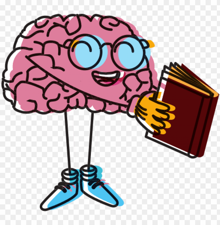 brain clipart brain reading a book png image with transparent background toppng brain clipart brain reading a book