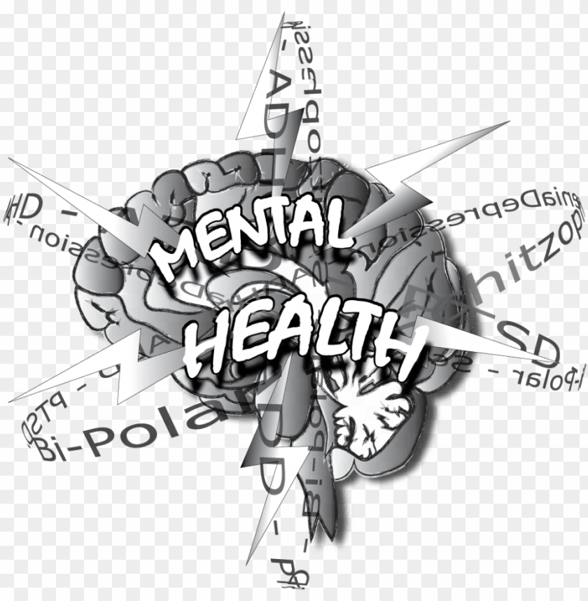 Brain Clipart Mental Health Art Brain Mental Health Png Image With Transparent Background Toppng