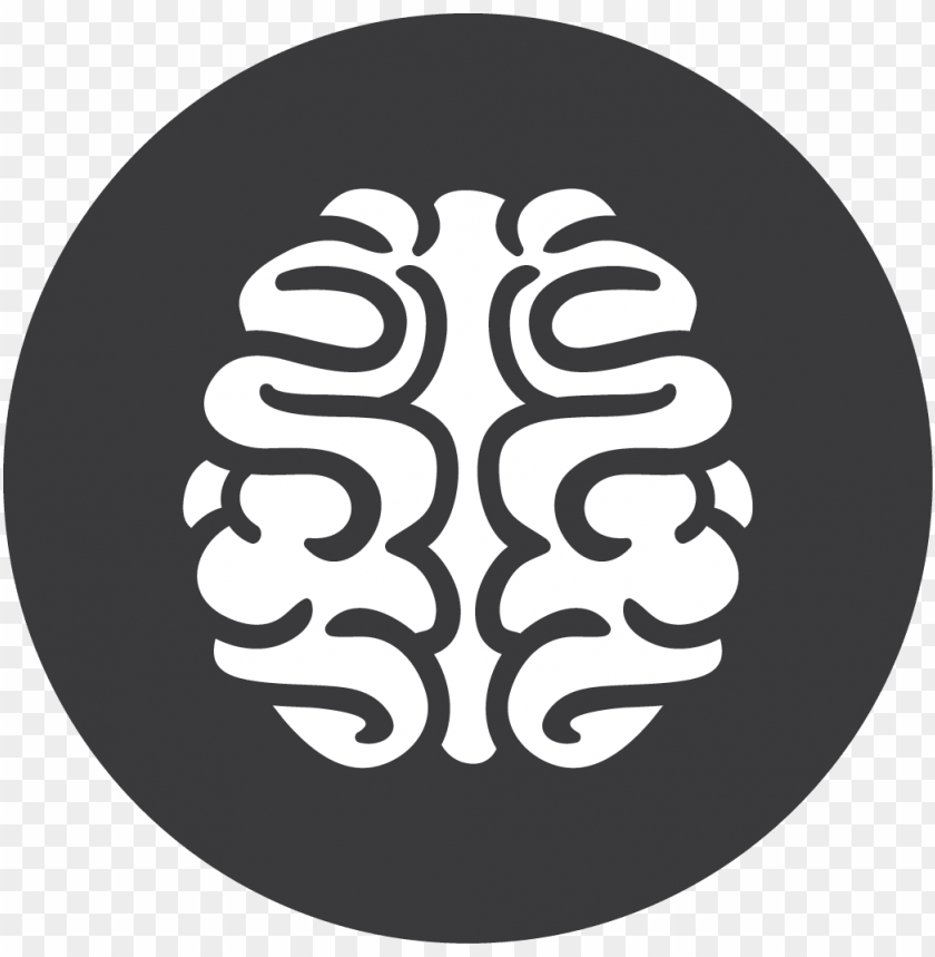 free PNG brain transparent picture - brain icon grey PNG image with transparent background PNG images transparent