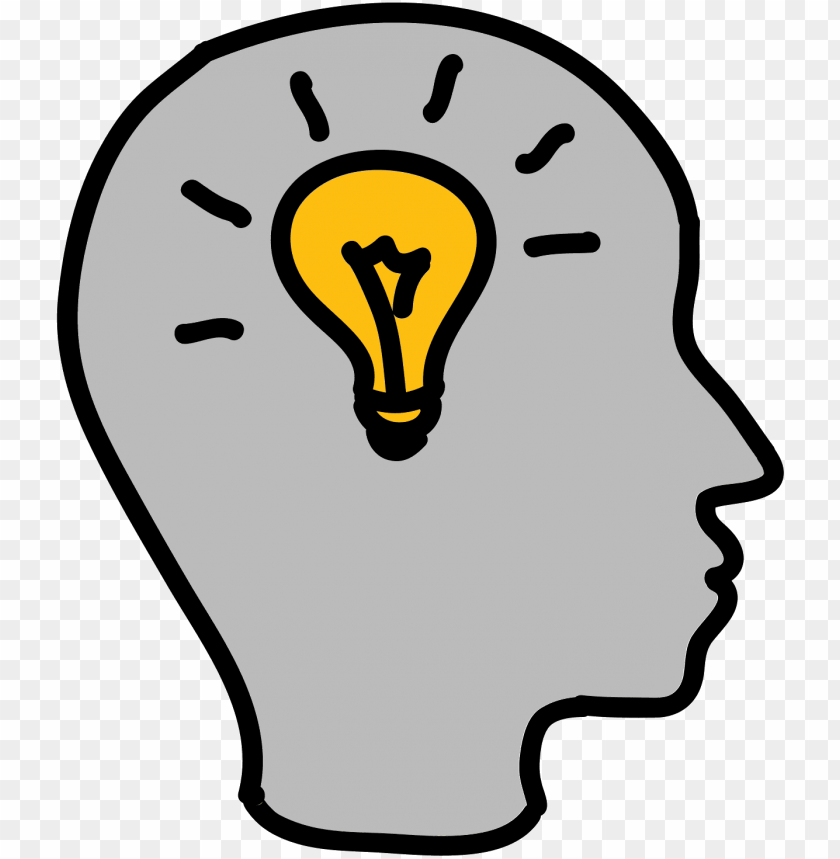 free PNG brainstorm skill icon - brain light bulb clip art PNG image with transparent background PNG images transparent