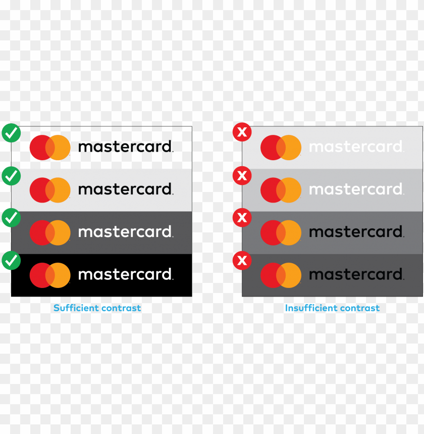 free PNG brand mark guidelines logo usage rules images - brand book mastercard PNG image with transparent background PNG images transparent