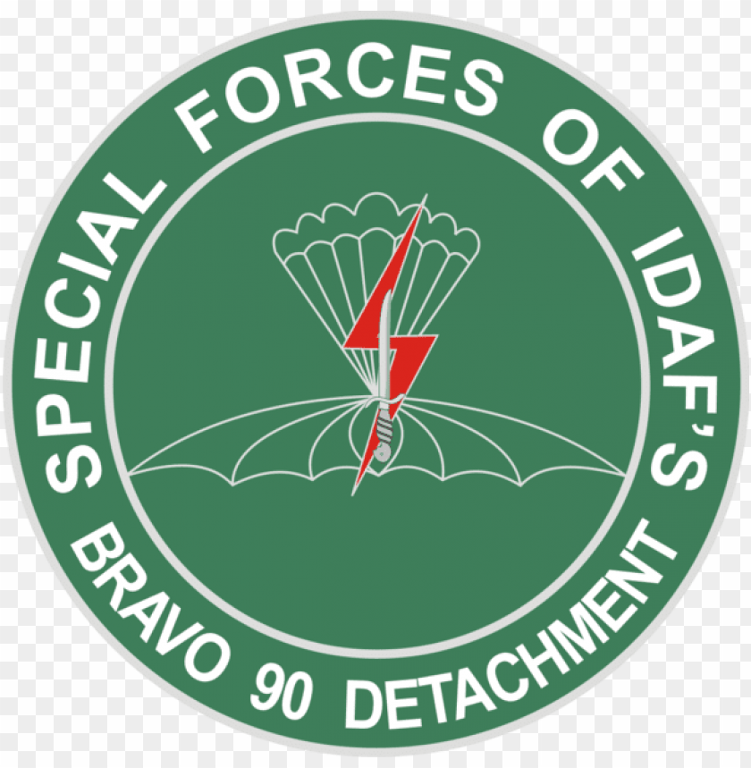 free PNG bravo detachment 90 logo, indonesian air force special - 3.8 inch u.s. army 1st special forces brigade unit PNG image with transparent background PNG images transparent