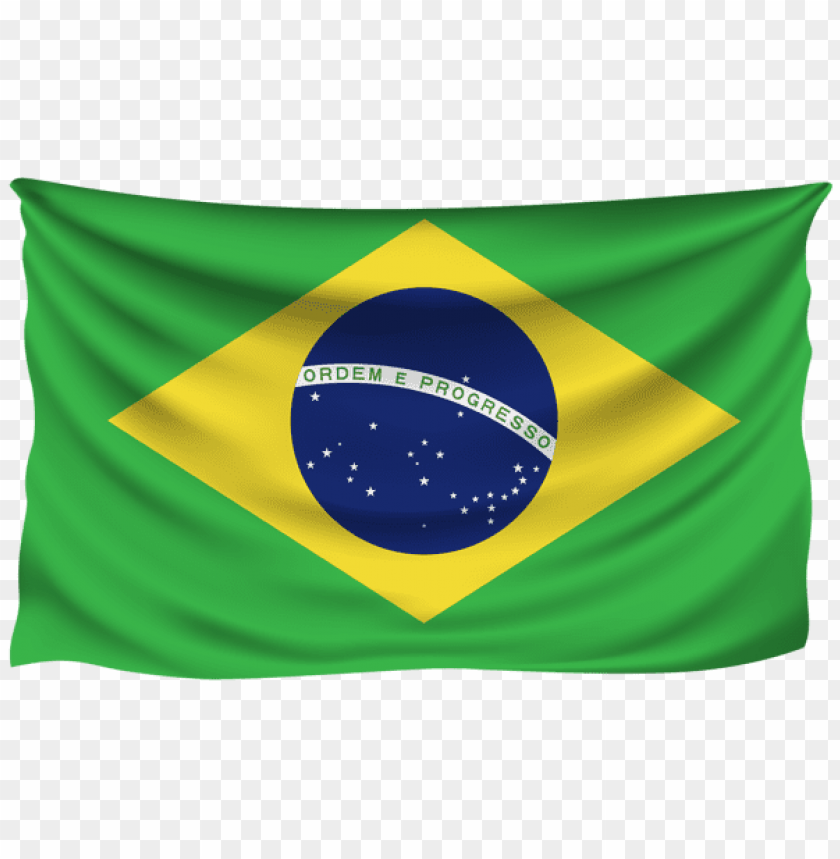 free PNG Download brazil wrinkled flag clipart png photo   PNG images transparent