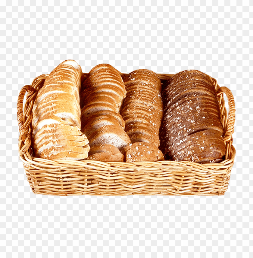 free PNG Download bread slices in wicker basket png images background PNG images transparent
