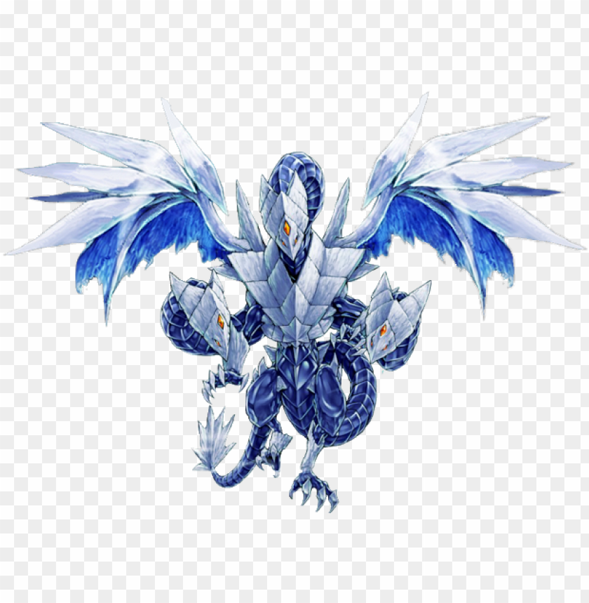 free PNG brionac, dragon of the ice barrier and gungnir, dragon - trishula dragon of the ice barrier render PNG image with transparent background PNG images transparent