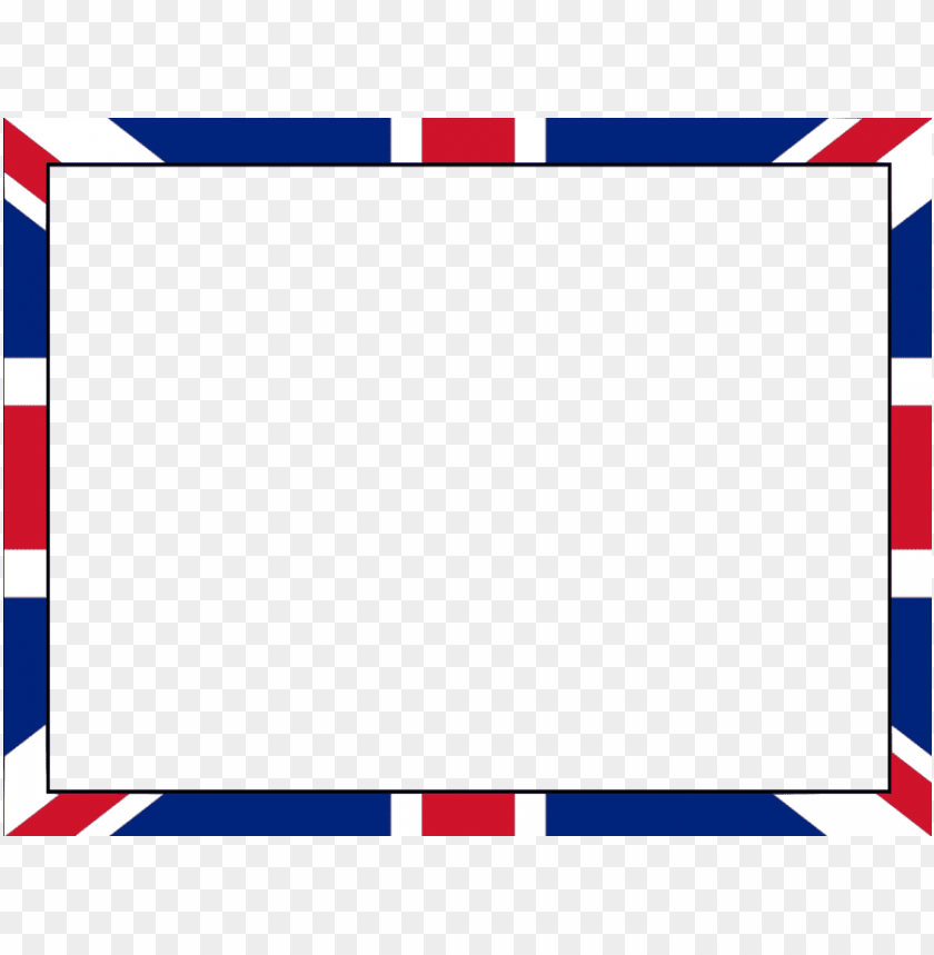 free PNG british flag border clipart union jack flag clip art - british flag border PNG image with transparent background PNG images transparent