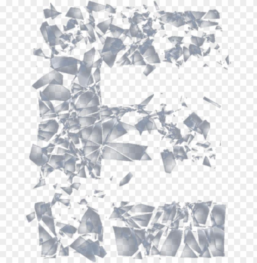 free PNG broken glass background png broken glass letters png - shattered glass letter e PNG image with transparent background PNG images transparent