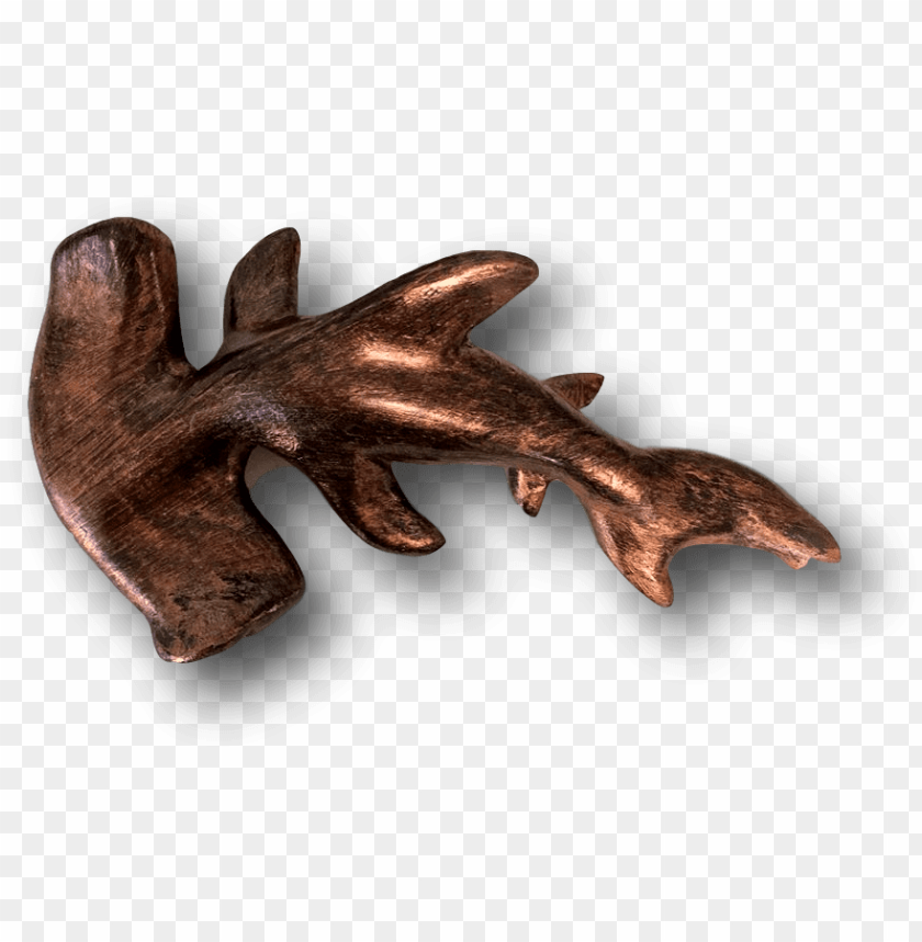 free PNG bronze ross the legend hammerhead shark fish with attitude - rebate plane PNG image with transparent background PNG images transparent