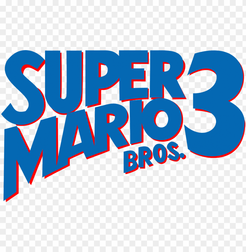 Bros Logo By Ringostarr Super Mario Bros 3 Logo Png Image With