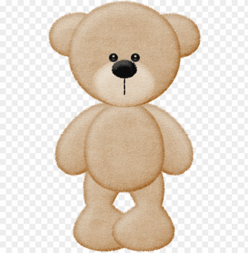 free PNG brown bear teddy bear template, bear silhouette, teddy - ursinho bege desenho PNG image with transparent background PNG images transparent