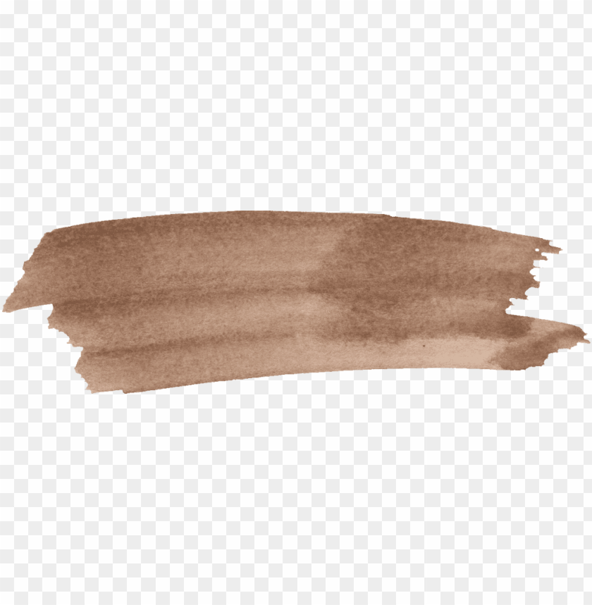 free PNG brown brush stroke PNG image with transparent background PNG images transparent
