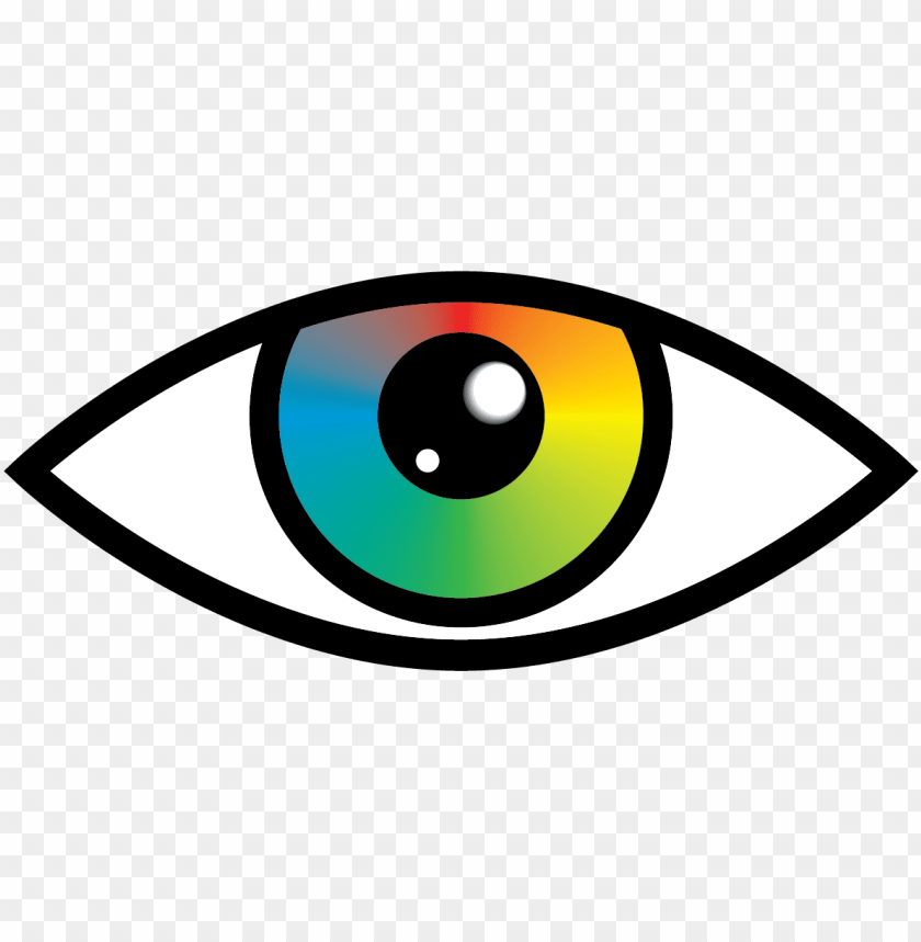 free PNG brown eyes clipart graphic clipart - rainbow eye clipart PNG image with transparent background PNG images transparent
