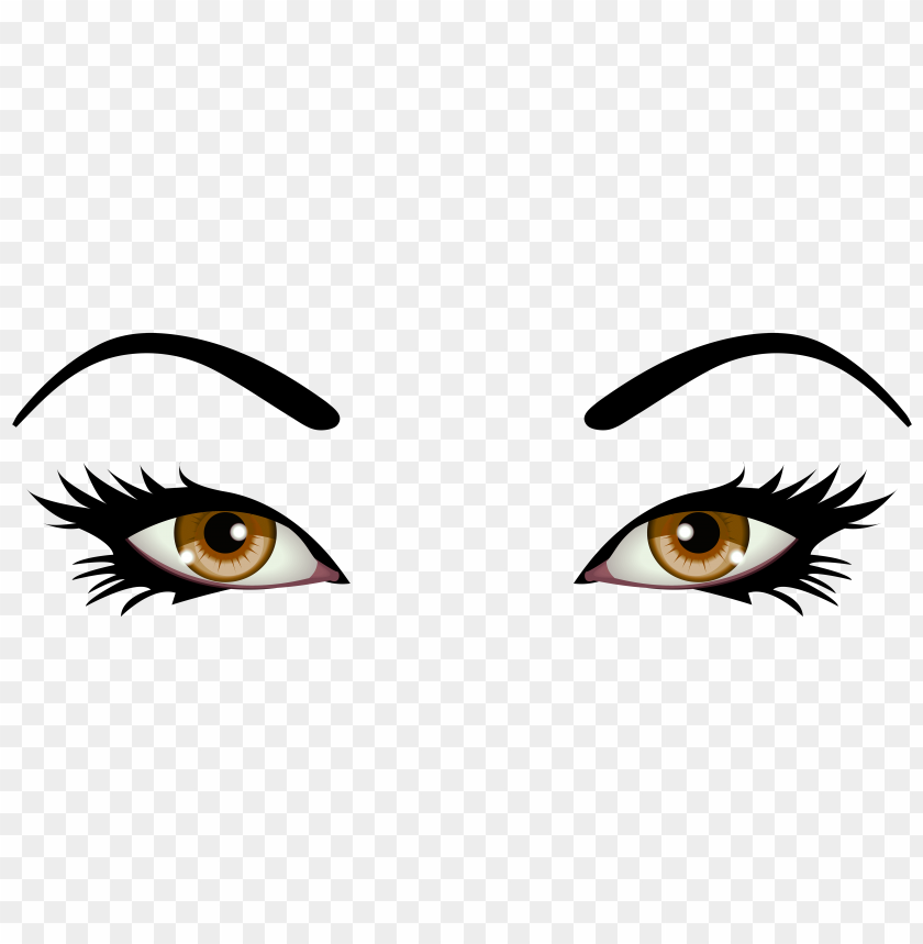 Download Brown Female Eyes Clipart Png Photo Toppng