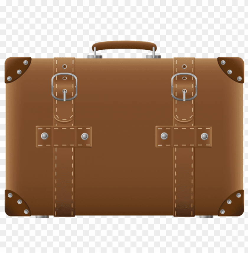 free PNG Download brown suitcasepicture clipart png photo   PNG images transparent