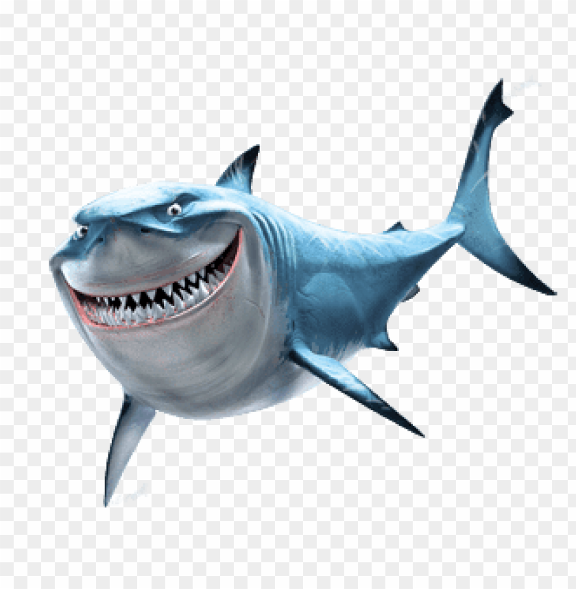 free PNG Download bruce shark finding nemo clipart png photo   PNG images transparent