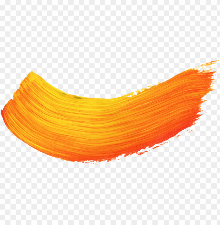 free PNG brush stroke png transparent vol onlygfx - orange paint brush PNG image with transparent background PNG images transparent