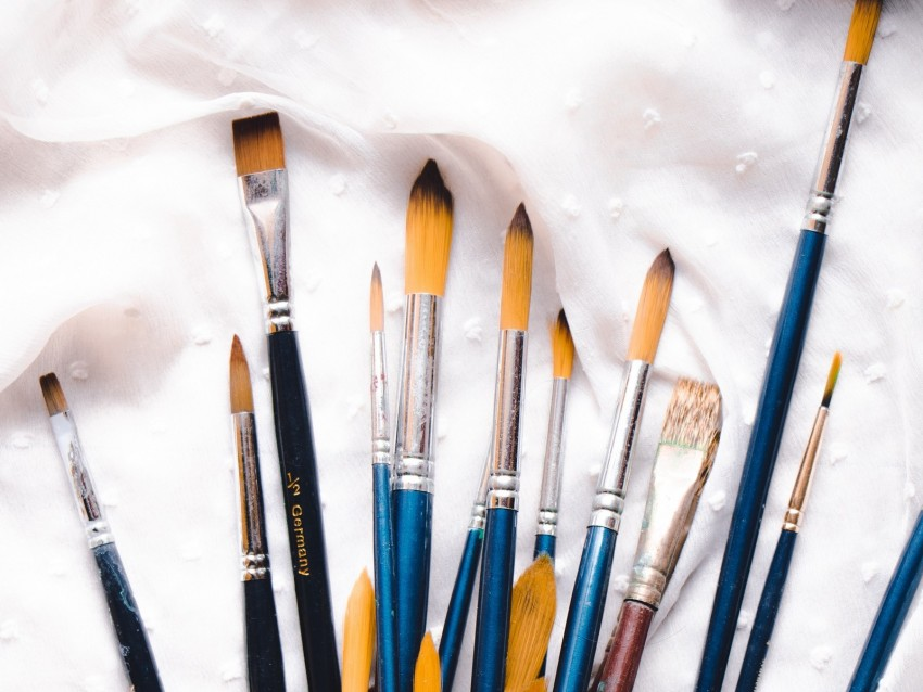free PNG brushes, artist, watercolor, paint, set background PNG images transparent