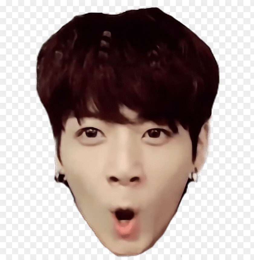 Bts Jungkook Funny Face Png Bts Funny Faces Png Image With
