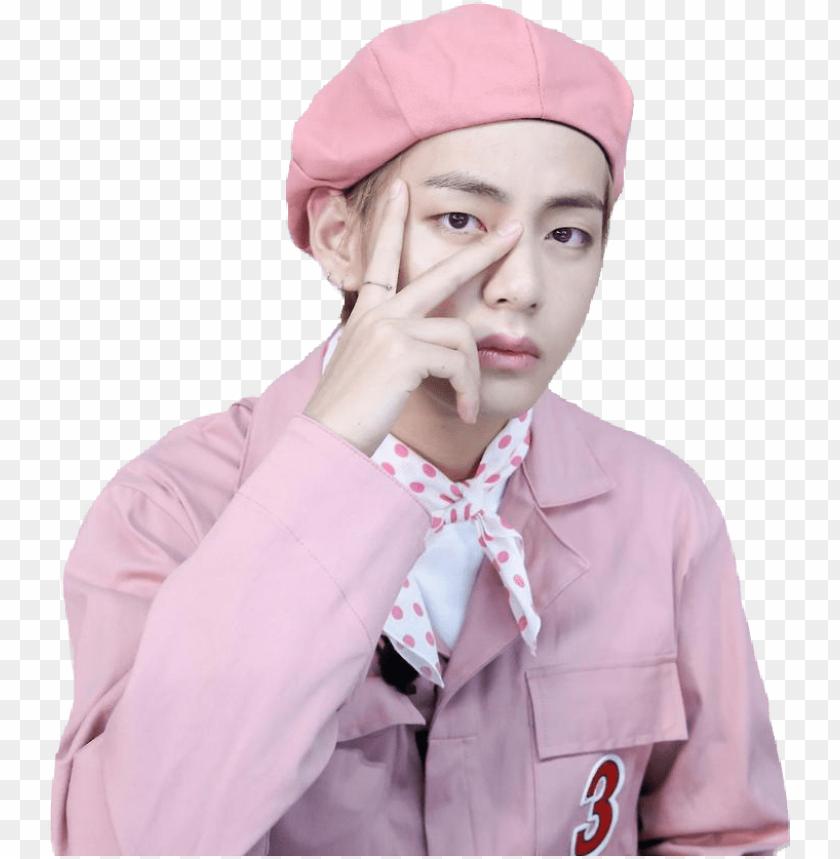 bts v taehyung taetae kimtaehyung kim tata pink cute kim taehyu 11562986626lbp5hu8cbm
