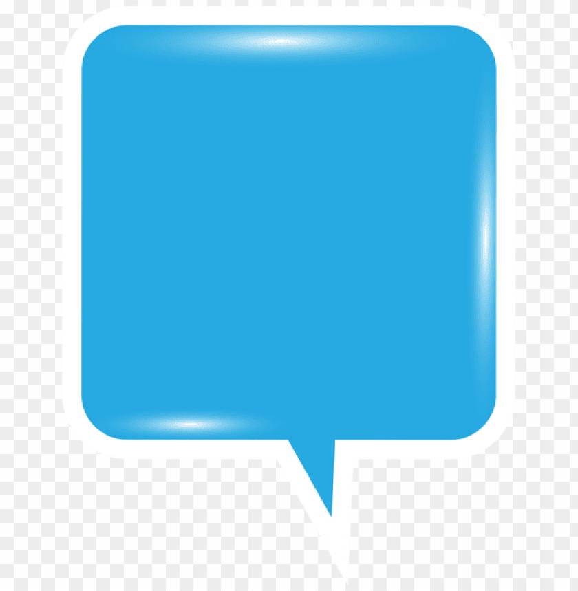 free PNG Download bubble speech blue clipart png photo   PNG images transparent