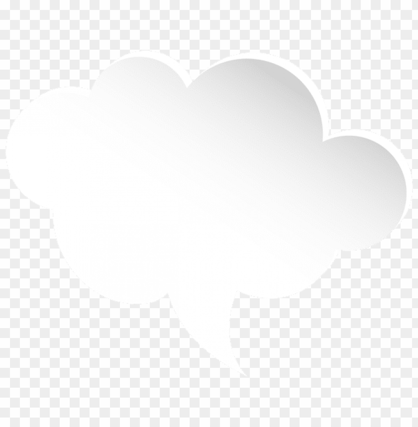 free PNG Download bubble speech cloud white clipart png photo   PNG images transparent