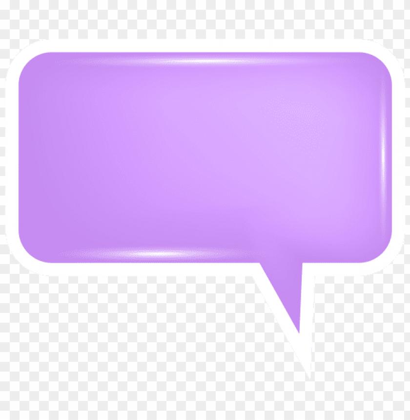 free PNG Download bubble speech purple clipart png photo   PNG images transparent