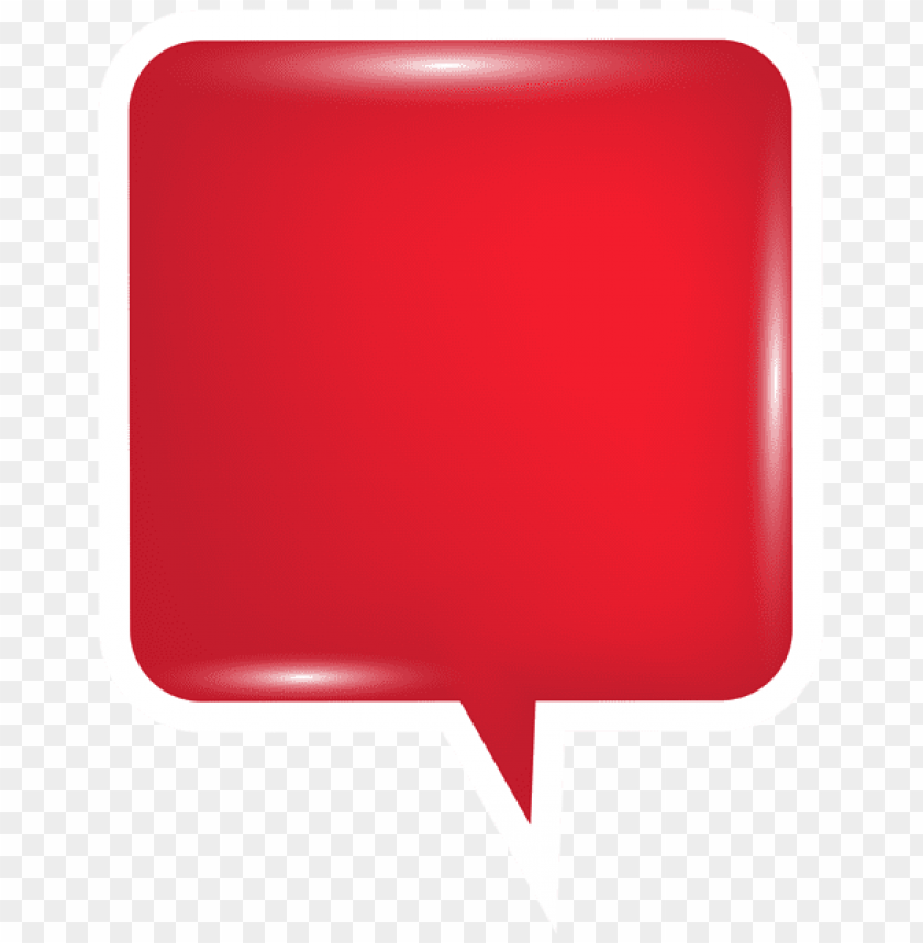 free PNG Download bubble speech red clipart png photo   PNG images transparent