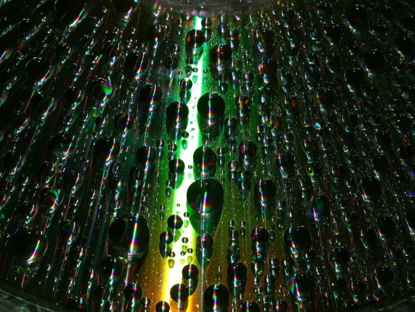 free PNG bubbles, drops, moisture, macro, gradient, iridescent background PNG images transparent